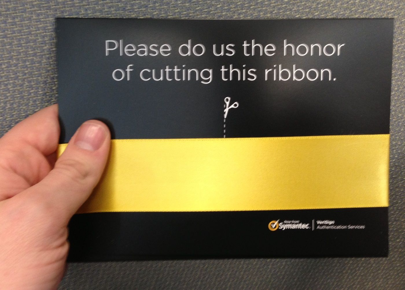 Symantec Invites You To A Ribbon Cutting Ceremony Ribbon Cutting