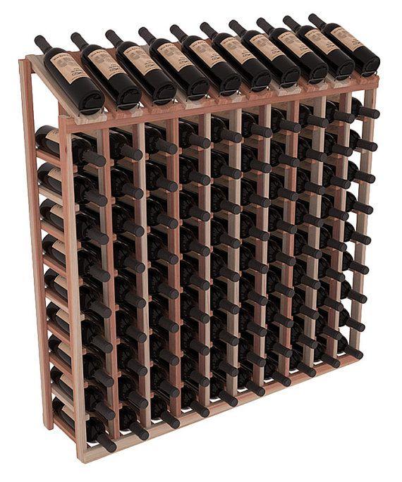 100 Bottle Display Top Wine Rack Kit In Redwood 13 Stains To Choose From Wine Rack Plans Homemade Wine Rack Wood Wine Racks