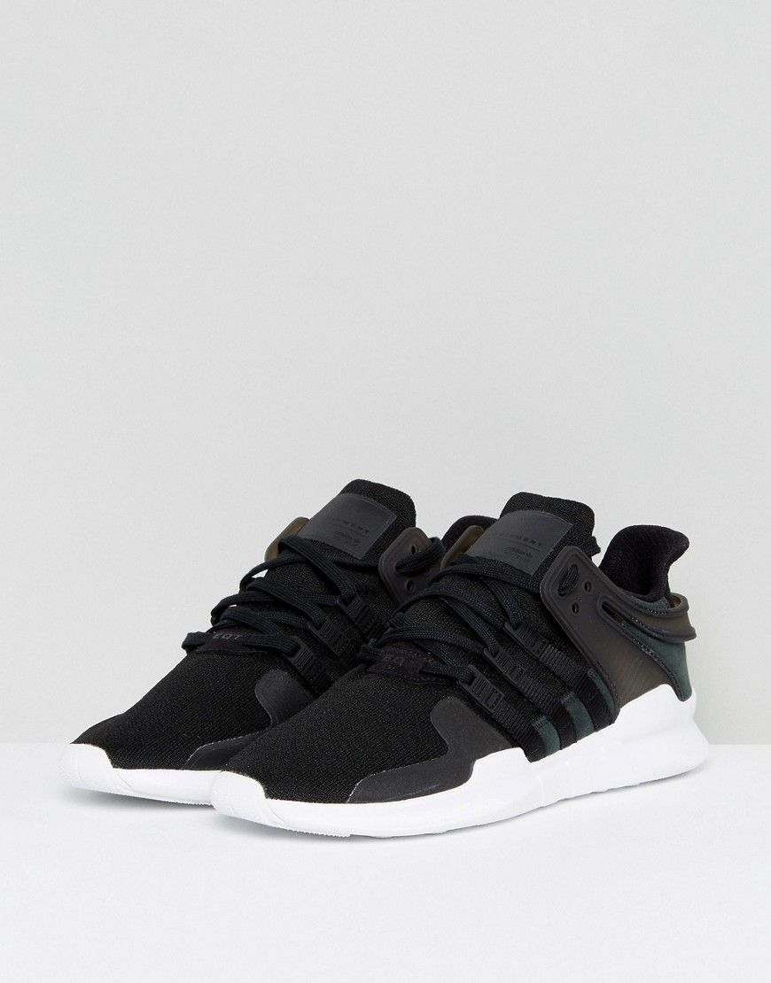 the latest 3b721 63f4b adidas Originals EQT Support ADV Sneakers In Black CP9557 - Black