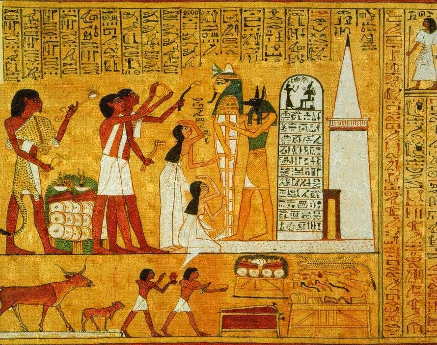 Elegant 30605 Egypt Ancient Egyptians Wall Art (890×