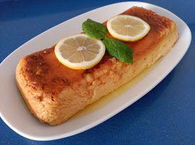 Flan de Limón   Cocina A Buenas Horas