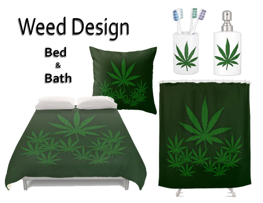 Weed Design For The Bedroom