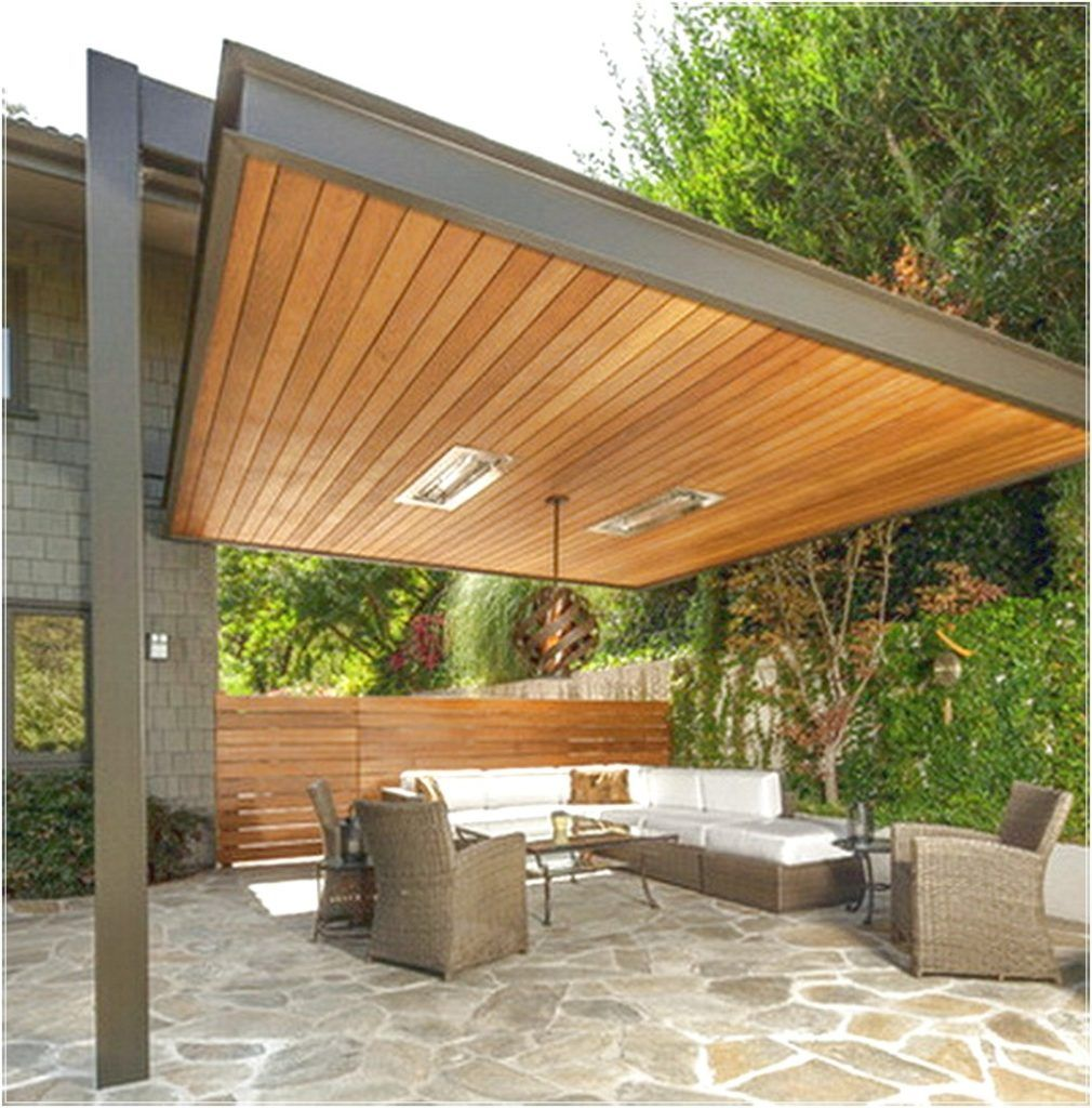 Small backyard covered patio ideas - Backyard Covered Patio Ideas Desain Minimalis Beautiful More