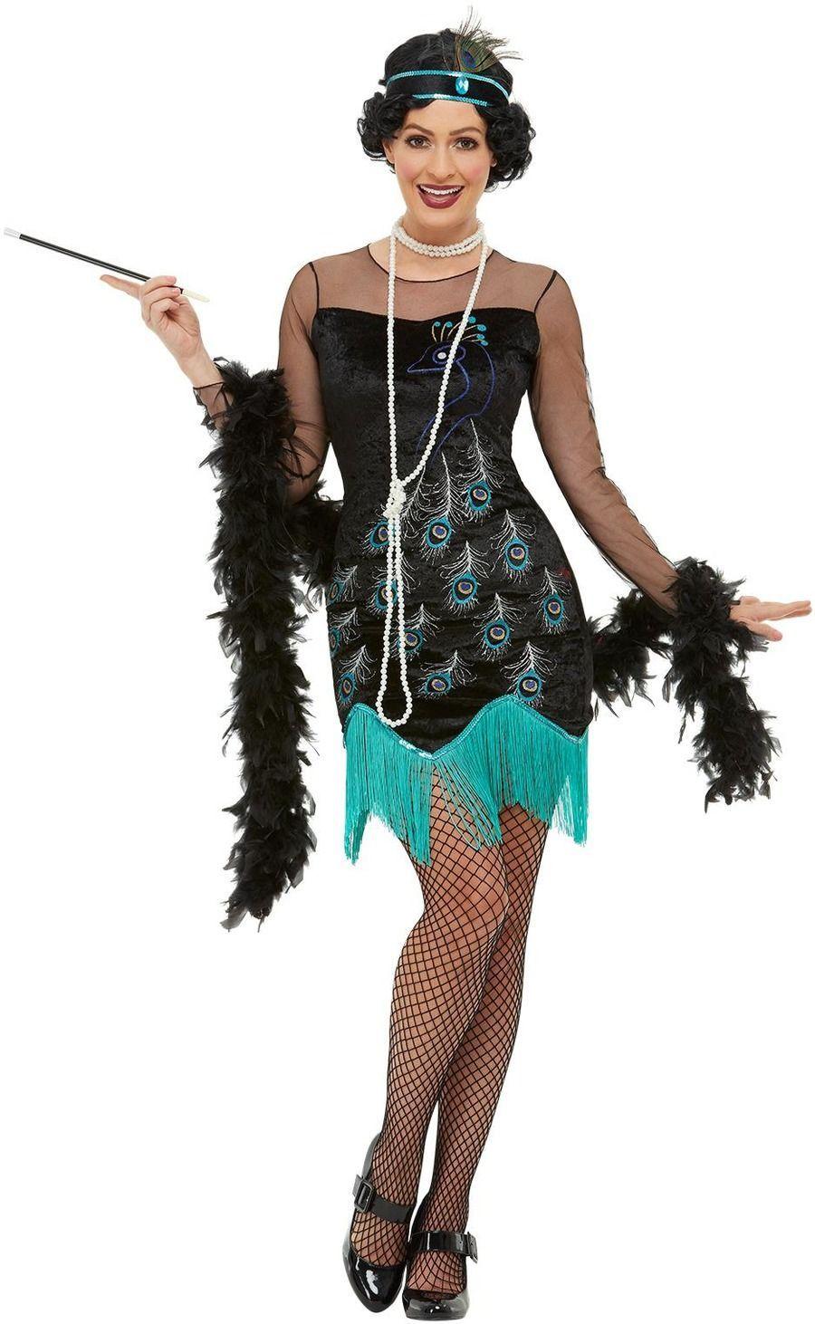 Ongebruikt Festivalshop | Charleston dame peacock flapper (With images PO-17