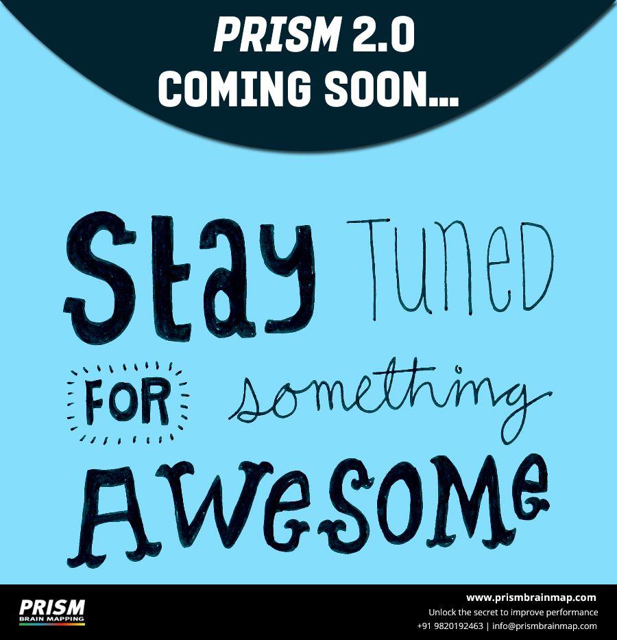 Prism 20 coming soon company logo tech company