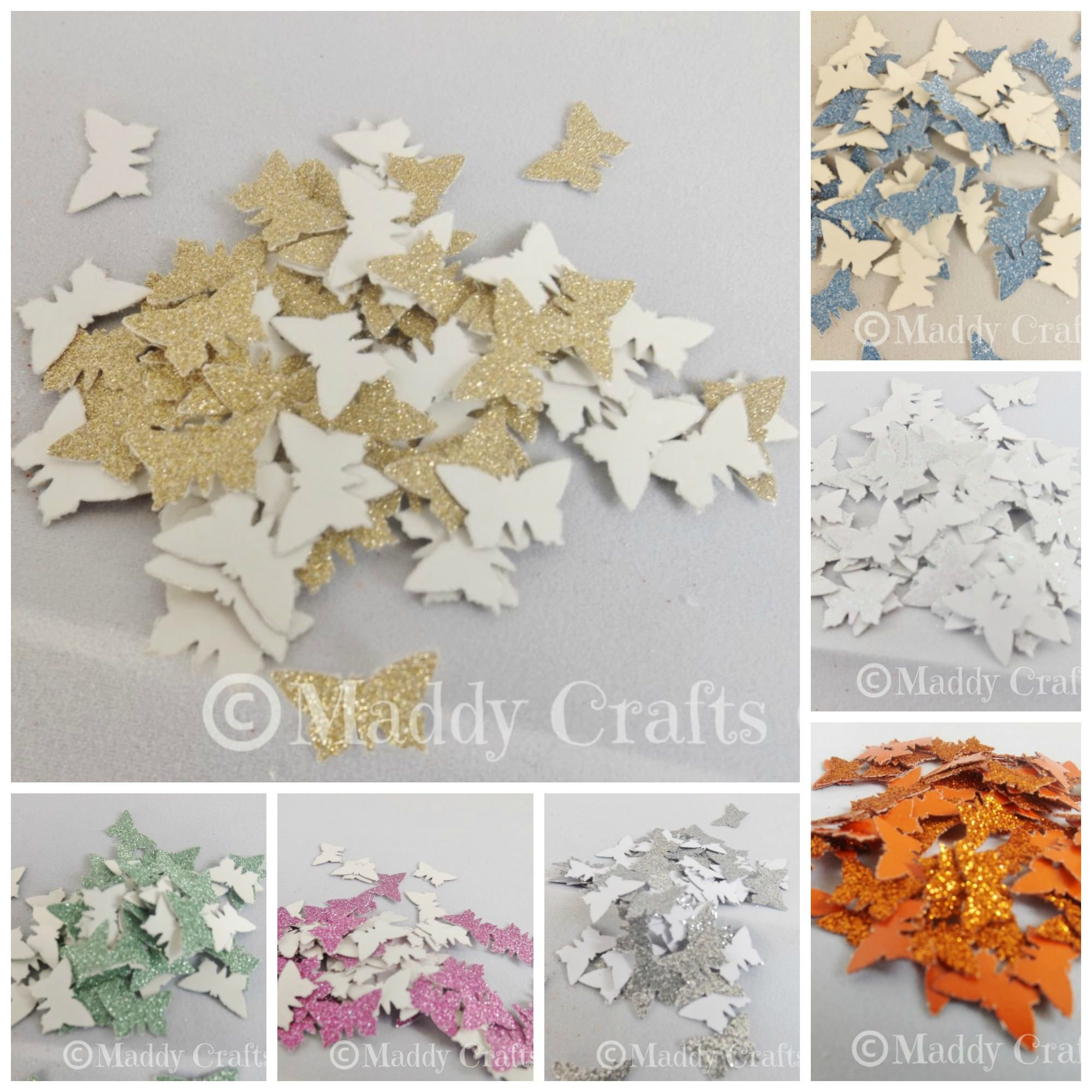 Butterfly card making embellishments scrapbooking decorative butterfly card making embellishments scrapbooking decorative butterflies paper craft supplies by maddycraftsco on etsy jeuxipadfo Images