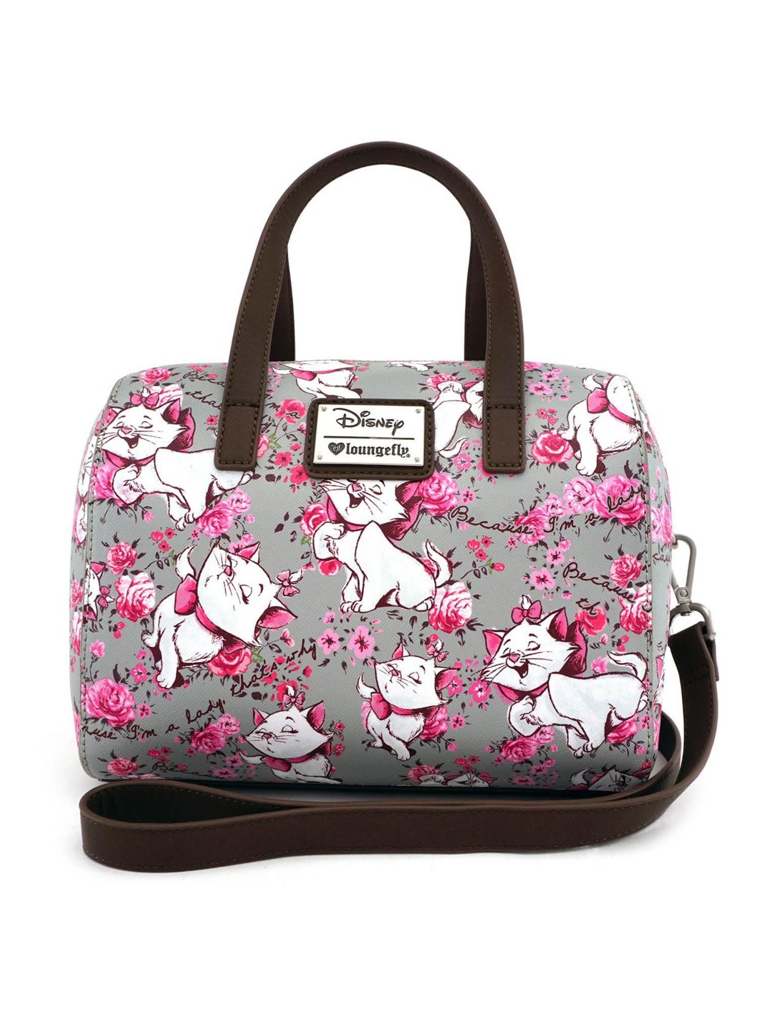 03dcce226922 Loungefly Disney Aristocats Marie I m a Lady Gray Pink Crossbody Purse