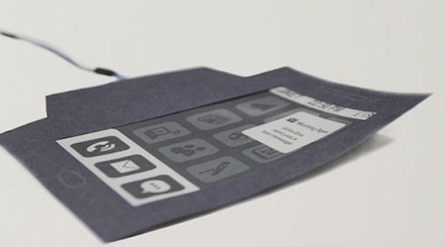 the new paper phone!
