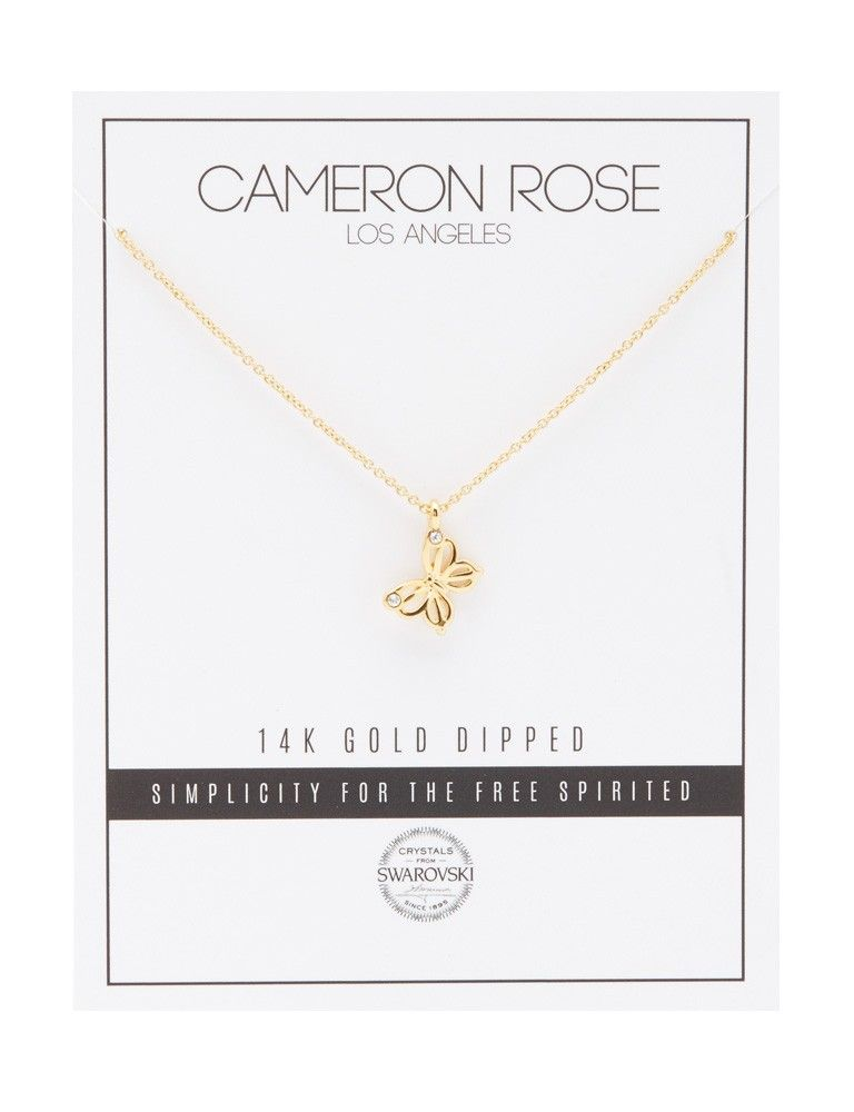 Cameron Butterfly Necklace