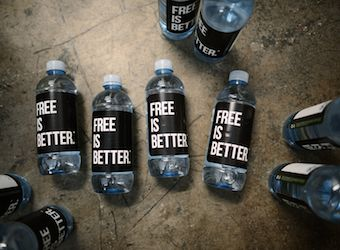 How innovative is this if there is a growing movement against plastic bottles?