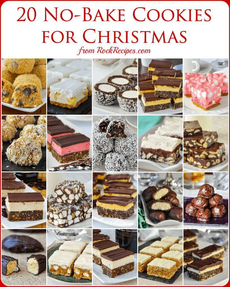 No Bake Christmas Cookies  15 easy recipes that are freezer friendly too