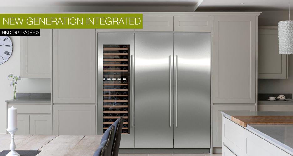 Wine and f freezer side by side - sub zero Side by side - küche mit side by side kühlschrank