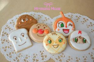 キャラクター アイシング クッキー