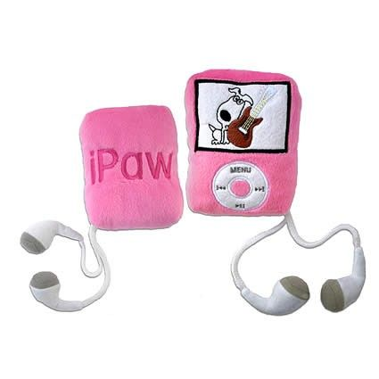 Ipaw Pink Designer Dog Toy Puppy Accessories Dog Toys
