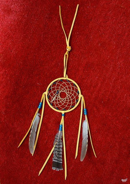 Ojibwe Dreamcatcher RED Native American Pinterest Dream Adorable Ojibwe Dream Catcher