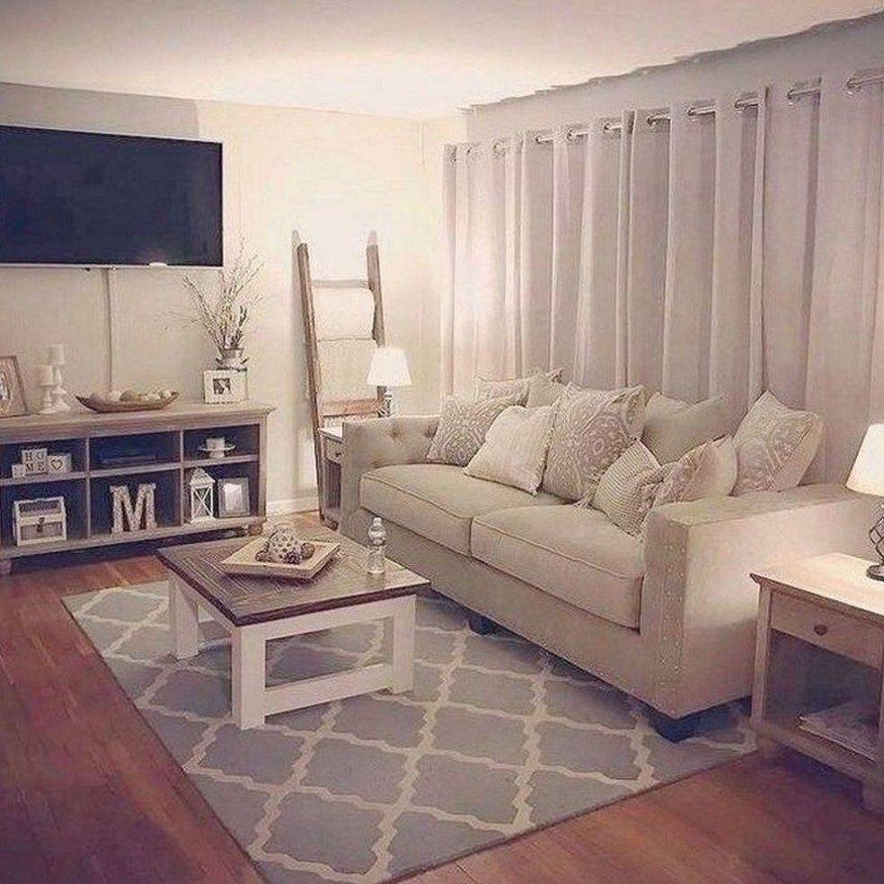 45 Impressive Apartment Living Room Decorating Ideas On A Bu