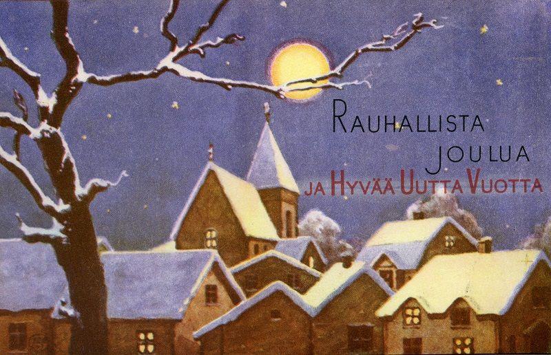 Rauhallista Joulua ja Hyvää Uutta Vuotta! #joulu #joulukortit #Christmas