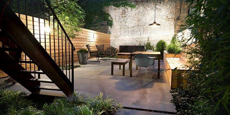 Decoracion de exteriores terrazas opciones originales for Paisajismo de terrazas