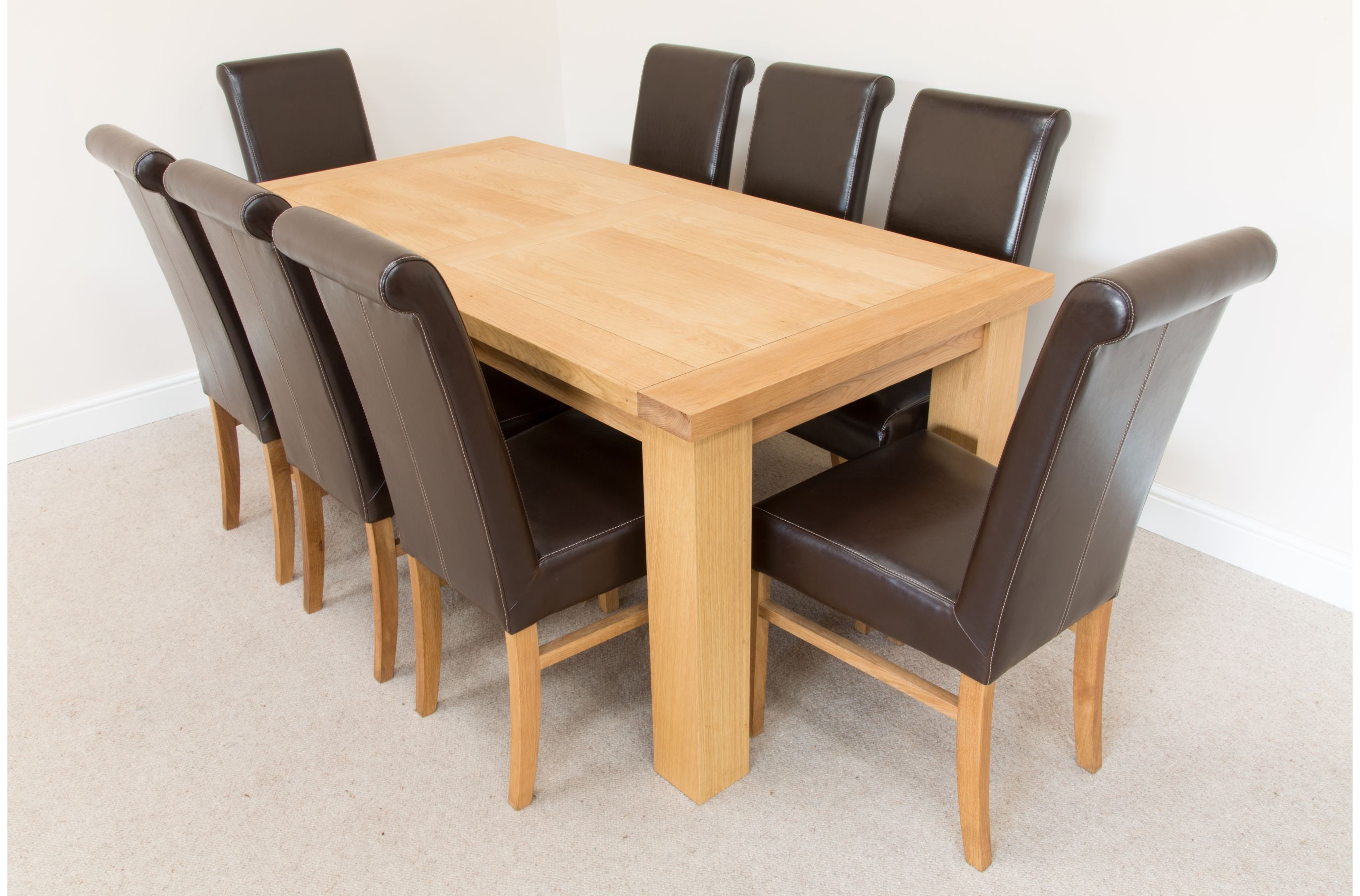 chairoak size full dining white for oak and kitchen ecba sale room tables chairs of table chair