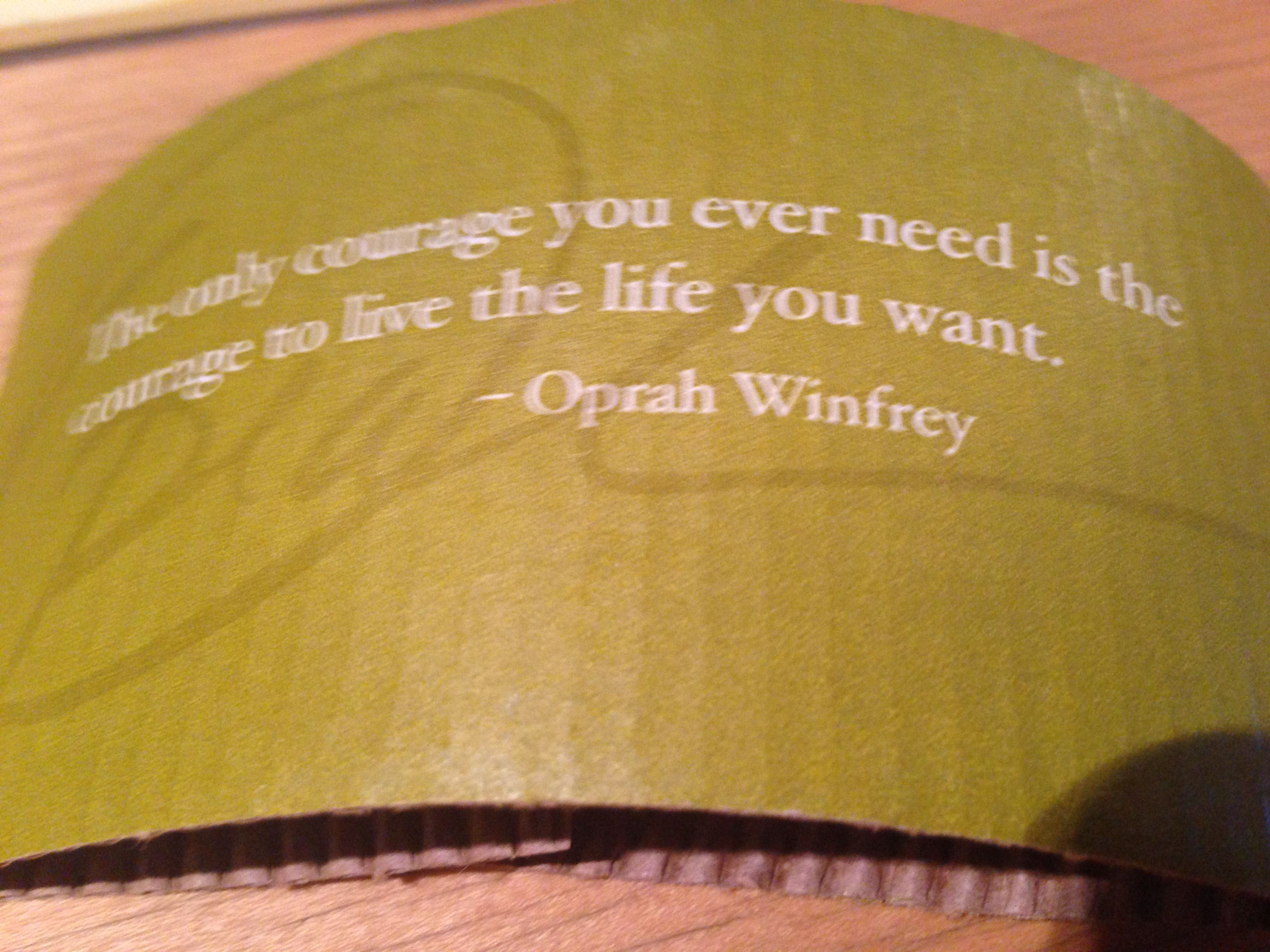 Wise Words From Oprah~~~ | Wise words, Words, Oprah