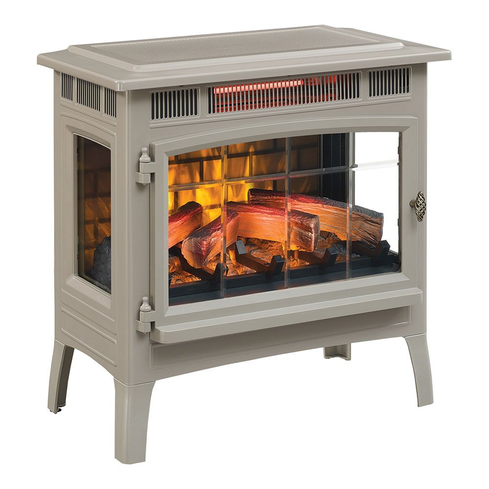 Duraflame 5010 3d French Grey Infrared Freestanding Stove
