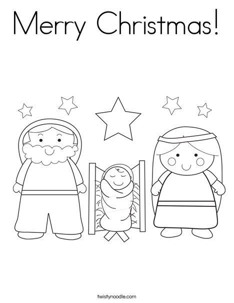 Merry Christmas Coloring Page Weddings Pinterest Christmas