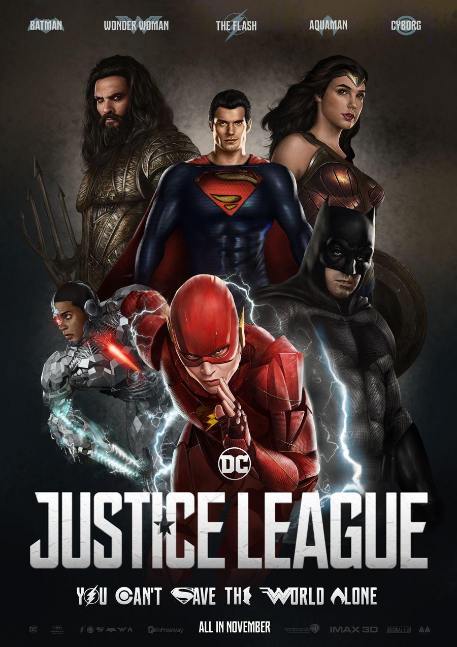 DC Comics Batman Wonder Woman Justice League Comic Books 3D Motion Poster Photo