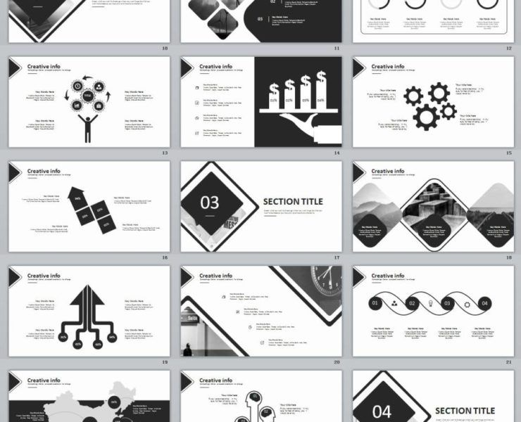 23 Advanced Business Report Powerpoint Templates Template And