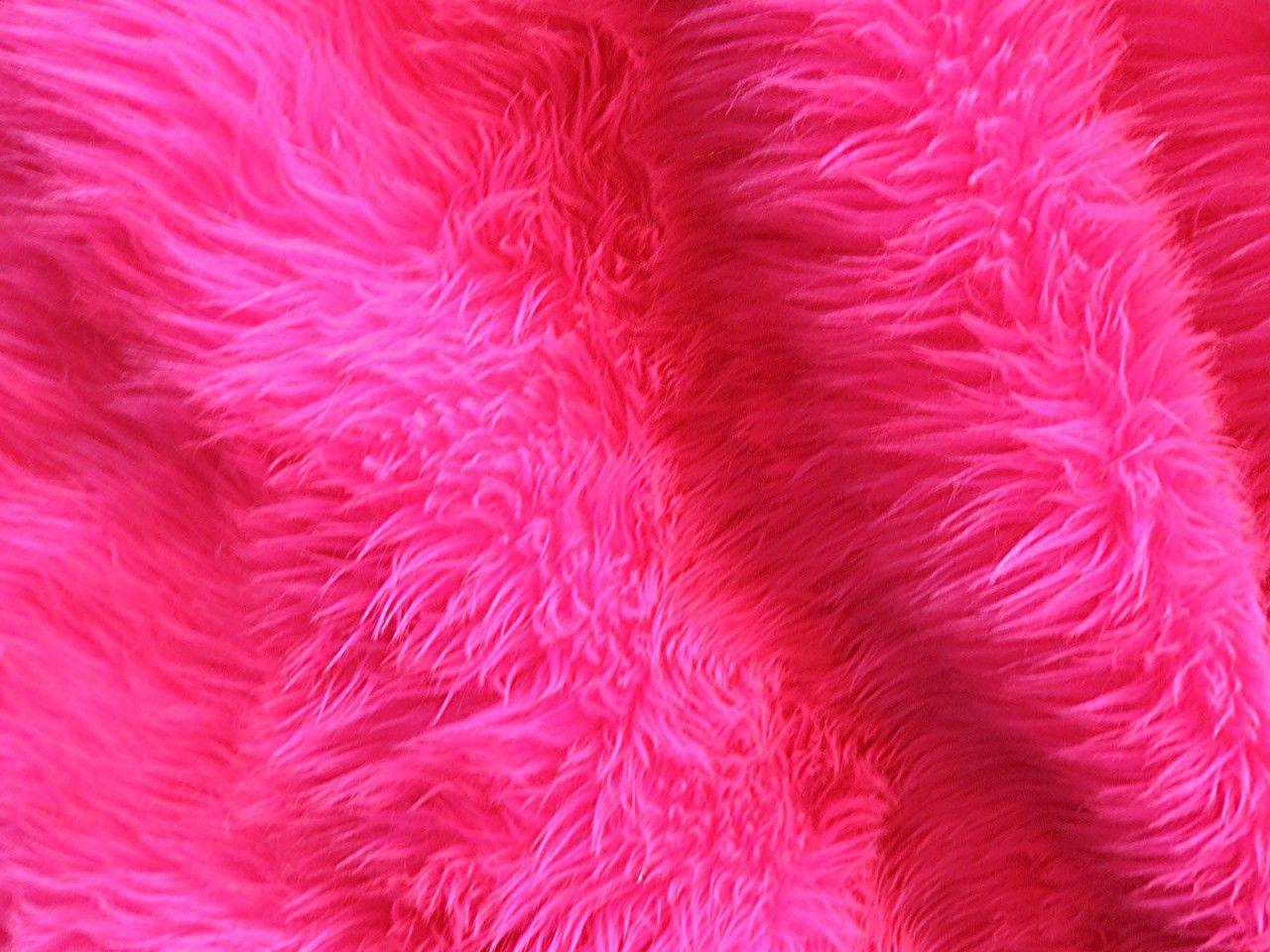 Hot Pink Shag Rug