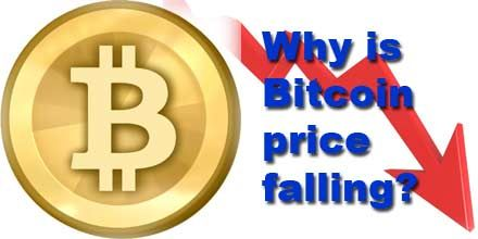 Why all cryptocurrency falling