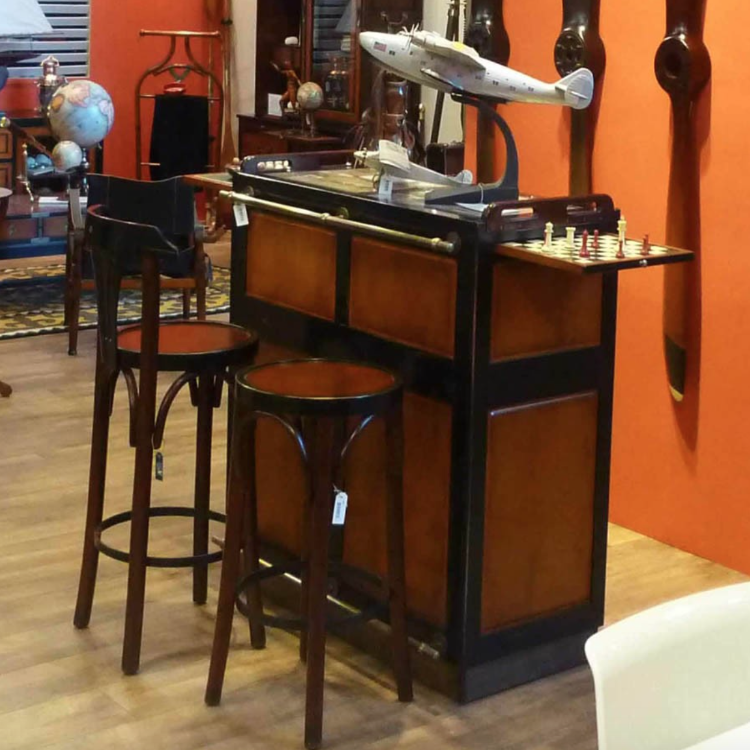 Casablanca Bar in Red or Black – Allissias Attic & Vintage French Style