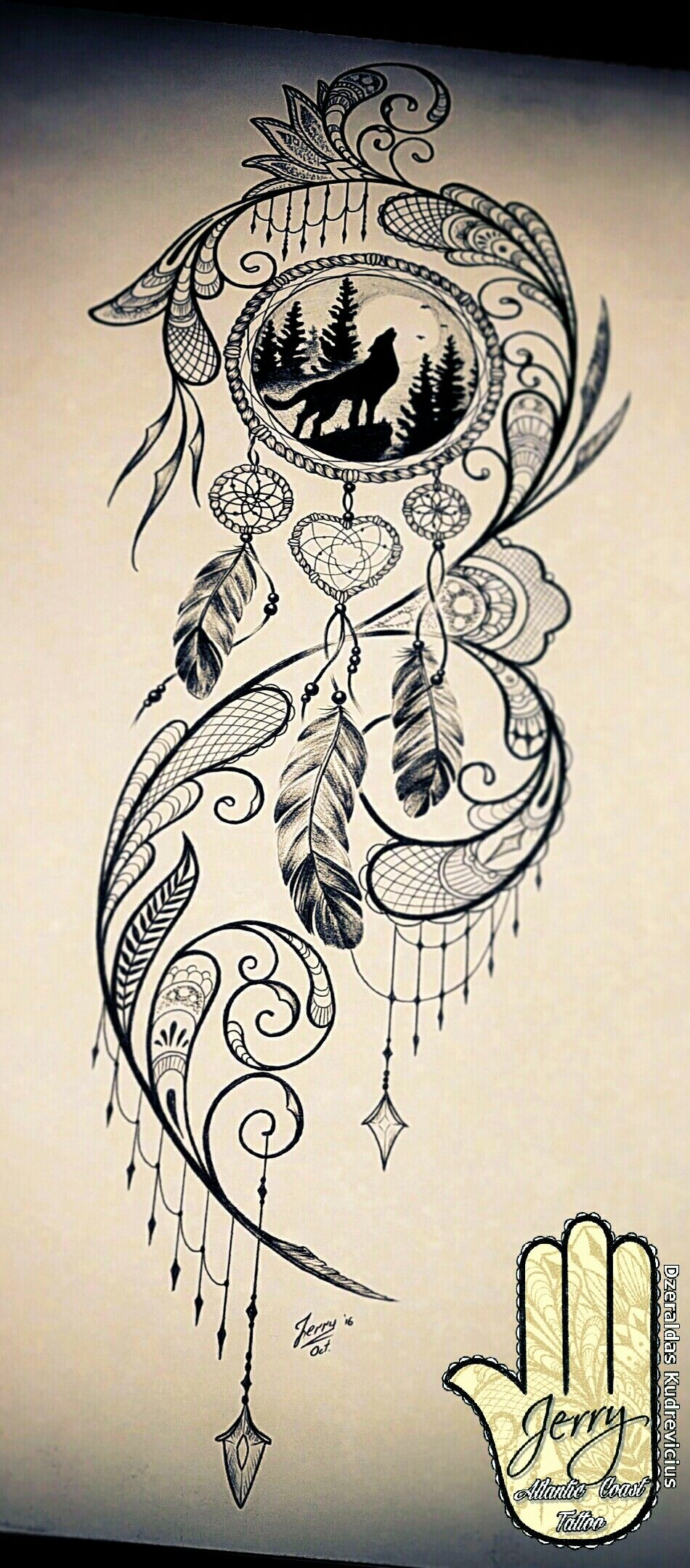 dream catcher tattoo design pinteres. Black Bedroom Furniture Sets. Home Design Ideas