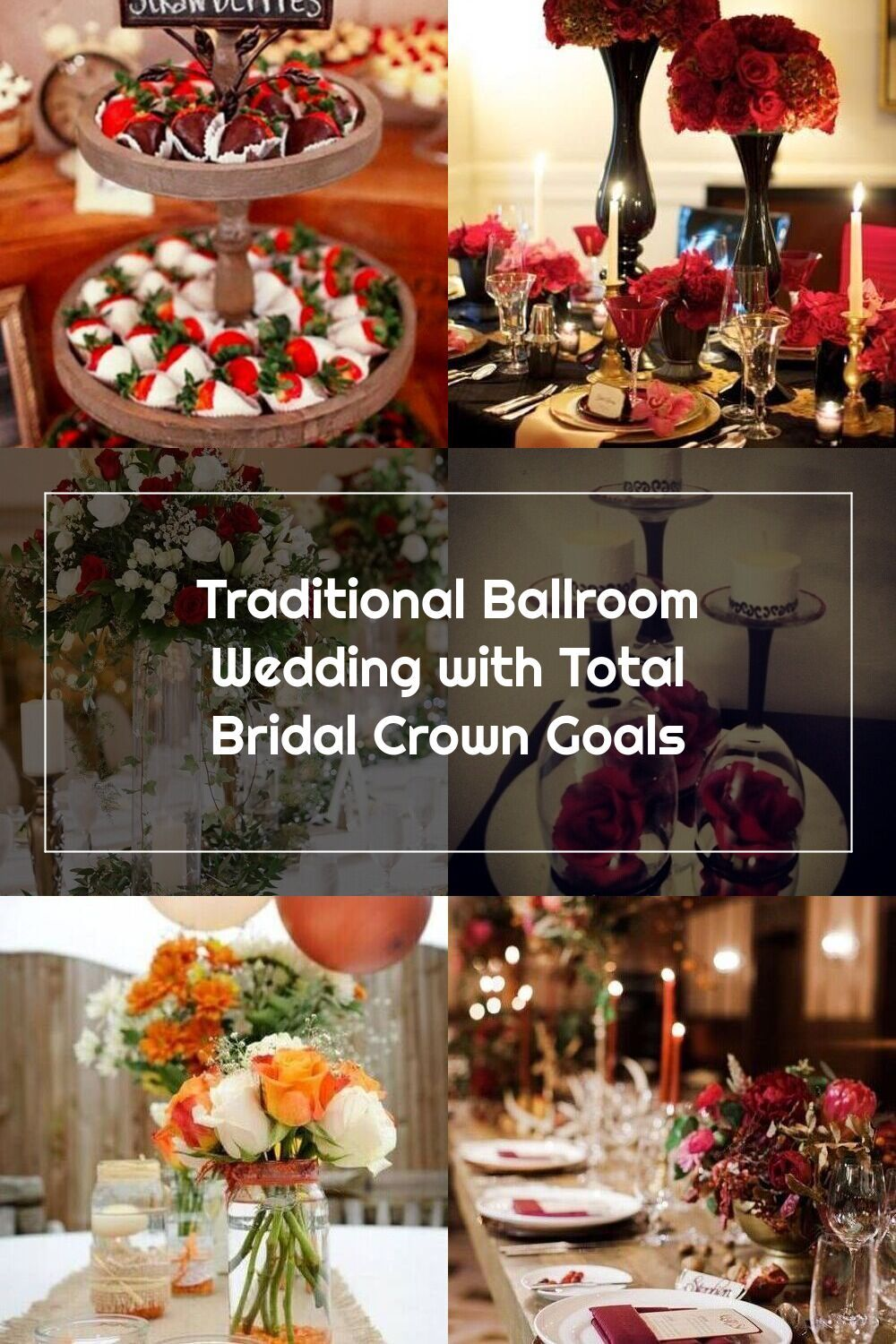Tall Wedding Centerpieces With Red Roses And Greenery For A Classic Winter Wedding At The John Marshall Ballrooms In Richmond Virginia Flowers Wedding Weddin Em 2020