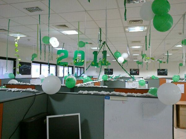 Decorating For And Having A New Year S Eve Party In The Office Is Perfect Opportunity