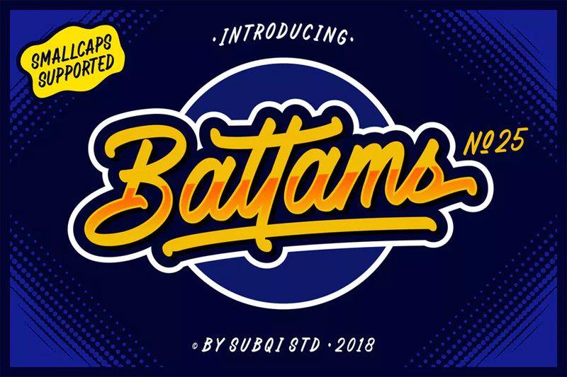 45 Best Free And Premium Baseball Fonts 2020 Baseball Font Free Fonts Download Fonts
