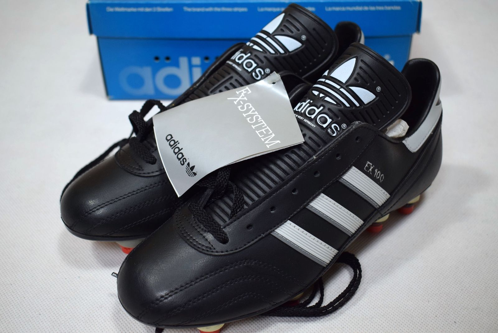 innovative design 5c629 c68ec Adidas FX 100 Soccer Shoes Soccer Shoes Cleats Vintage Deadstock 6.5 NEW    eBay Adidas Football
