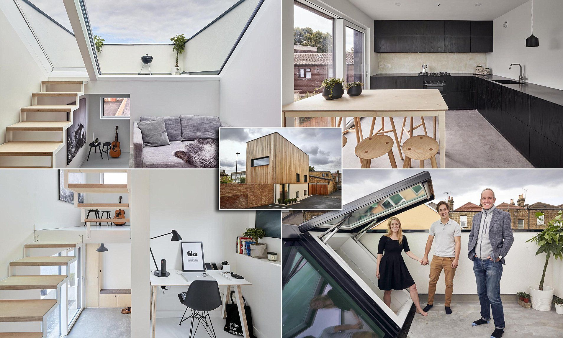 Grand Designs Couple Build 323k House In Tiny 38sqm East