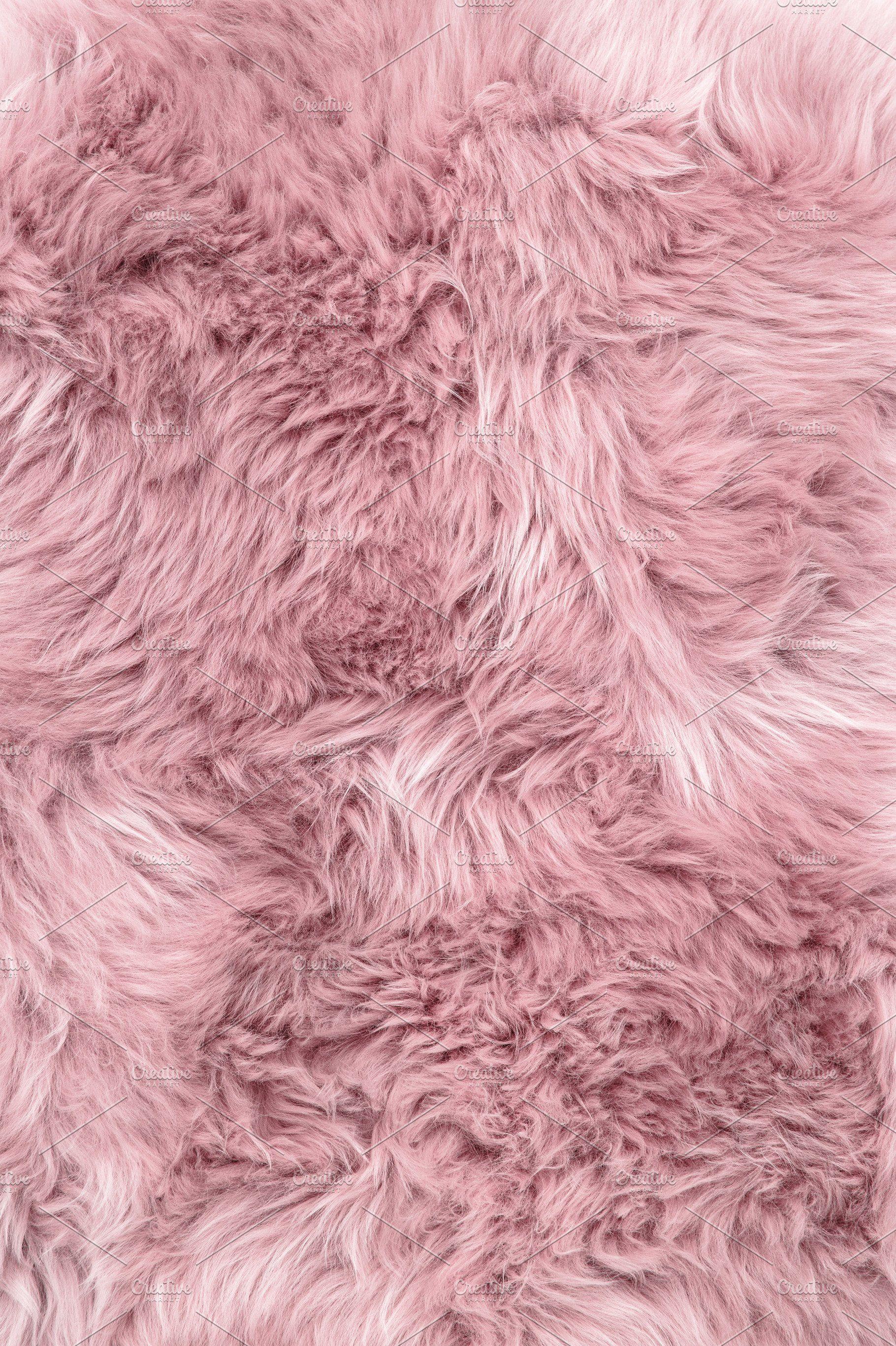 Sheep Fur Pink Sheepskin Rug Backgro Pink Fur Wallpaper Wallpaper Fur Pink Fur Background Aesthetic pink fur wallpaper hd
