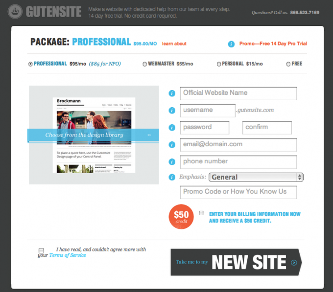 Gutensite Cms Content Management System Review Content Management System Dashboard Design Website Names