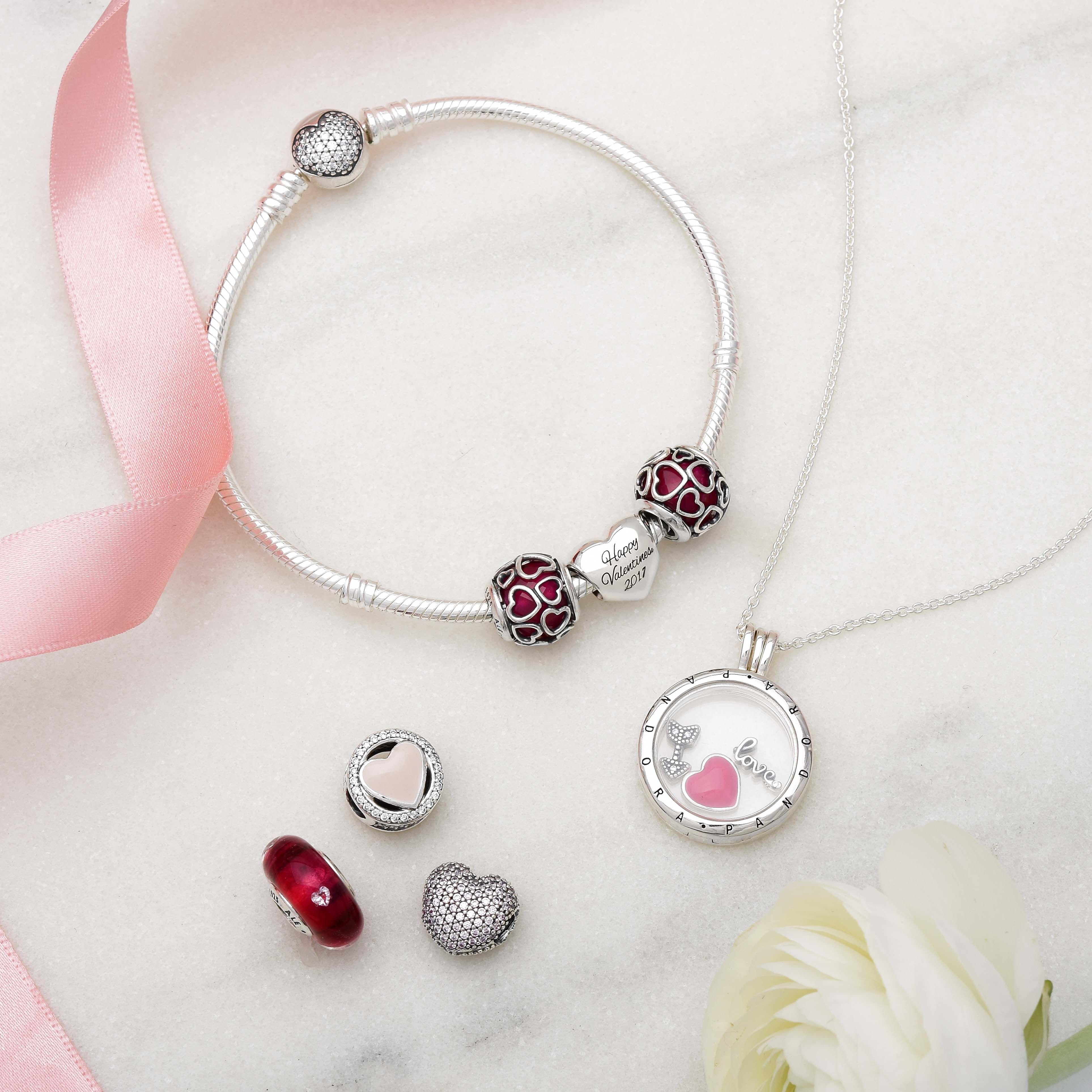 pandora valentines day 2017 shop the look at john greed jewellery httpjgj - Pandora Valentines