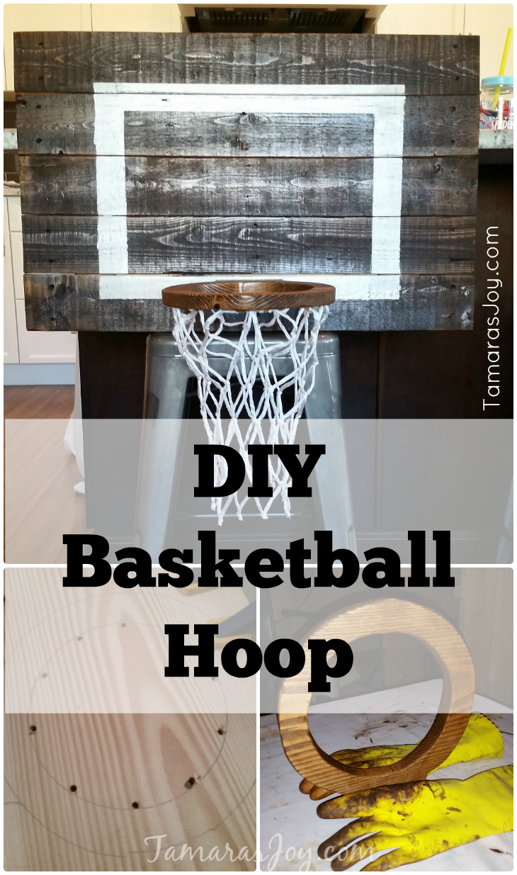 Diy Basketball Hoop For My Boys Bedroom Diy Basketball Hoop Boys Room Diy Diy Basketball