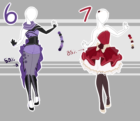 .::Adoptable Collection 18 (OPEN)::. by Scarlett-Knight.deviantart.com on @DeviantArt