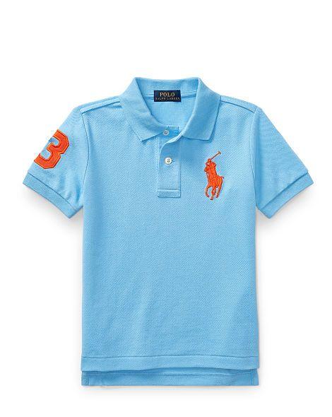 8ebf97c527f6d Cotton Mesh Polo Shirt - Boys 2-7 Short Sleeve - RalphLauren.com ...