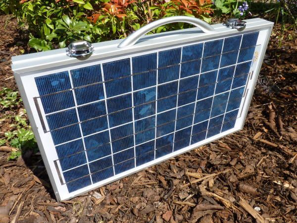 12 Volt Solar Panel Breifcase Folding Awning Lights 12volt Vw Camper T4 T5 Split Baywindow Robot Follow