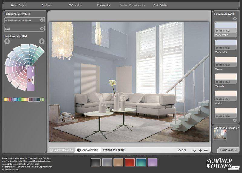 kostenloser interaktiver farbdesigner sch ner wohnen farbe wohnzimmer pinterest sch ner. Black Bedroom Furniture Sets. Home Design Ideas
