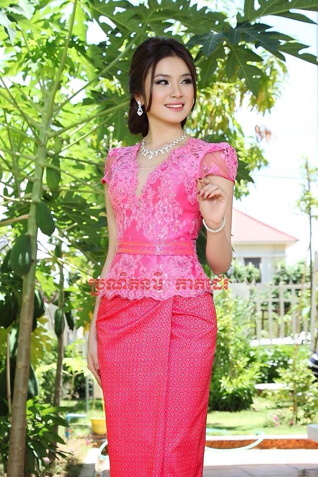 Cambodia dresses   Khmer clothes   Pinterest   Conjuntos, Vestiditos ...