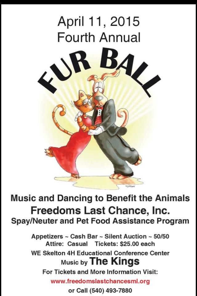 Freedoms Last Chance, Inc. Annual Fur Ball  April 11