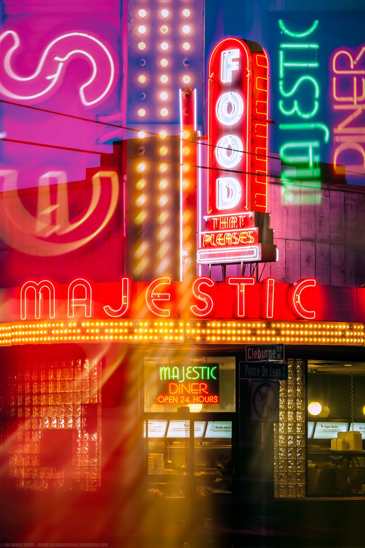 Majestic Diner, Atlanta, America Diner