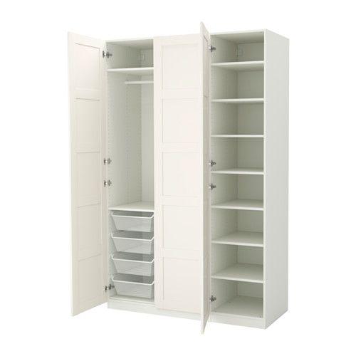 PAX Wardrobe, white, Bergsbo white