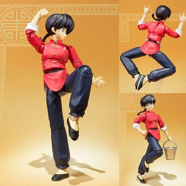 BANDAI S.H.Figuarts Saotome Ranma Action Figure Ranma 1//2